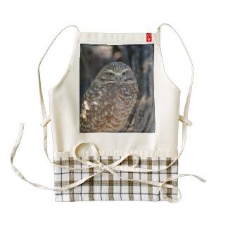 Burrowing Owl Zazzle HEART Apron