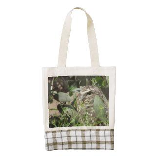 Burrowing Owl Zazzle HEART Tote Bag