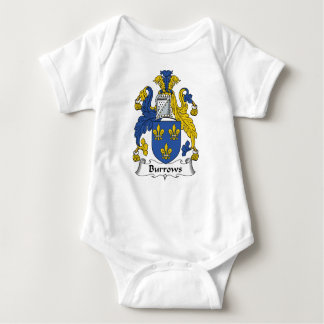 Burrows Family Crest Baby Bodysuit