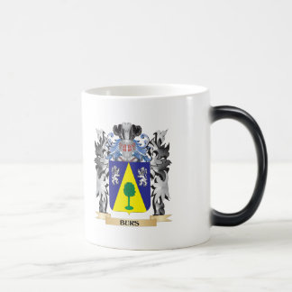 Burs Coat of Arms - Family Crest 11 Oz Magic Heat Color-Changing Coffee Mug