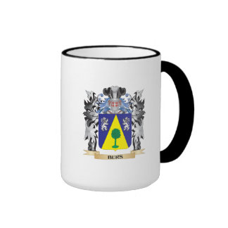 Burs Coat of Arms - Family Crest Ringer Coffee Mug