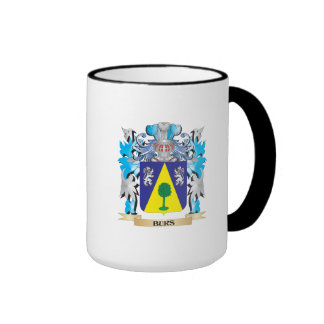 Burs Coat of Arms Ringer Coffee Mug