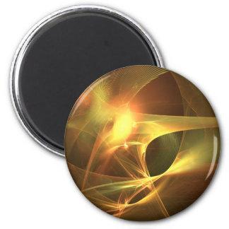 Burst 2 Inch Round Magnet