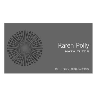 Burst Double-Sided Standard Business Cards (Pack Of 100)