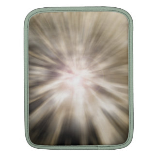 Burst of color and light Rays warm tones Sleeves For iPads