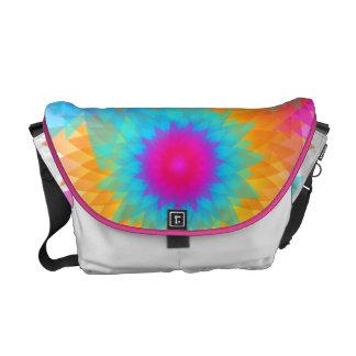 Burst of Color Collage Messenger Bag