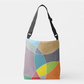 Burst of color crossbody bag