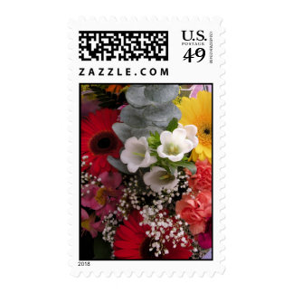 Burst of color Flower bouquet Stamps