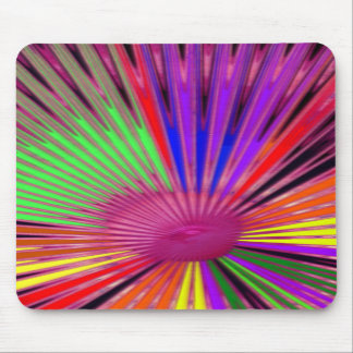 Burst of Color Mouse Pad