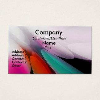 Burst Of Colors Custom Business Cards