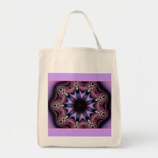 Burst Of colors Grocery Bag