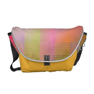 Burst of colour courier bag