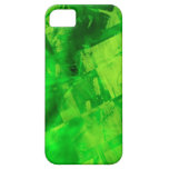 Burst of Green iPhone 5 Cover
