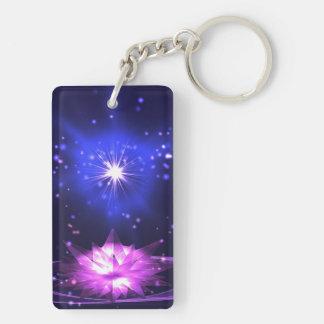 Burst of Hope 2 Double-Sided Rectangular Acrylic Keychain