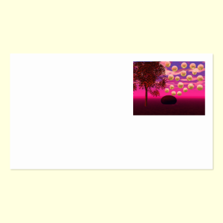 Burst of Joy – Abstract Magenta & Gold Inspiration Double-Sided Standard Business Cards (Pack Of 100)