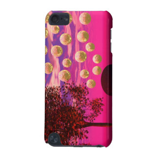 Burst of Joy – Abstract Magenta & Gold Inspiration iPod Touch 5G Cases