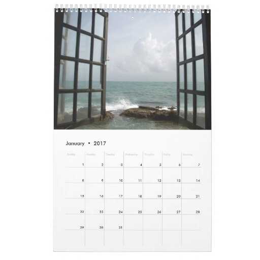 Burst of Light Calendar