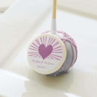 Burst Of Love (Pink) Cake Pops