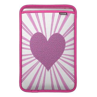 Burst Of Love (Pink) MacBook Air Sleeve