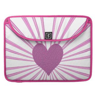 Burst Of Love (Pink) Sleeve For MacBook Pro