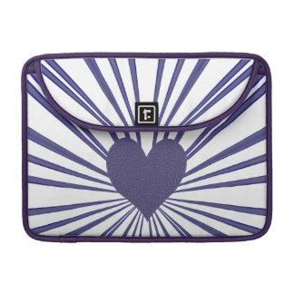 Burst Of Love (Purple) Sleeve For MacBooks