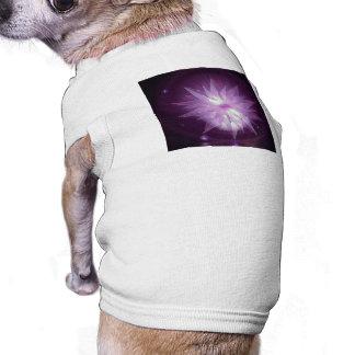 Burst of Purple Hope Dog T-shirt