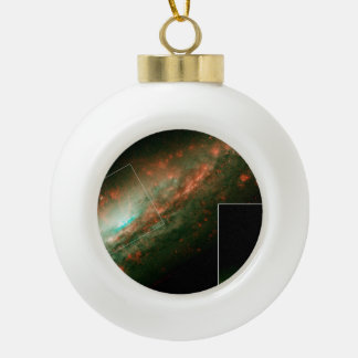 Burst of Star Formation Drives Bubble in Galaxy NG Ceramic Ball Christmas Ornament