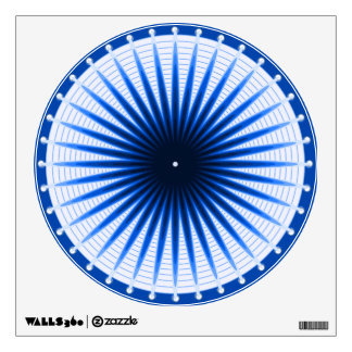 Burst of the Blues Wall Decal