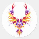 Burst Phoenix Sticker