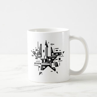 Burst Star Coffee Mug