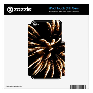 Bursted iPod Touch 4G Skins