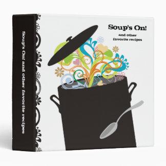 Bursting aromas cooking pot recipe cookbook binder