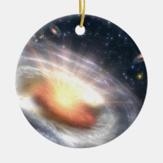 Bursting Black Hole Christmas Ornaments