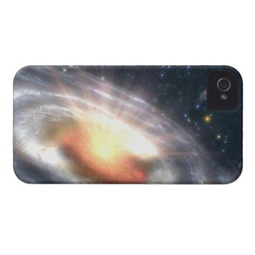 Bursting Black Hole iPhone 4 Case-Mate Cases