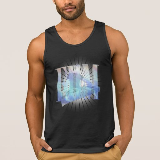 BURSTING EDM ELECTRIC BLUE HOT  TANKTOP Tank Tops, Tanktops Shirts
