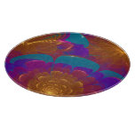 Bursting Flowers Abstract Art Cutting Boards
