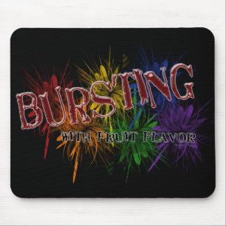 Bursting fruit Mousepads