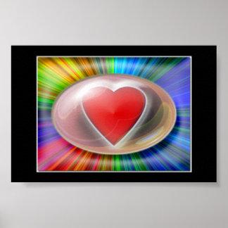 Bursting Heart Poster