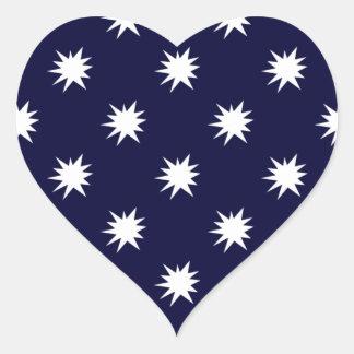 Bursting in Air Heart Sticker