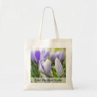 Bursting Into Blossom - Crocuses! Tote Bag