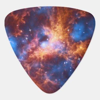 Bursting Nebula Custom Guitar Pick by reflections06 at Zazzle