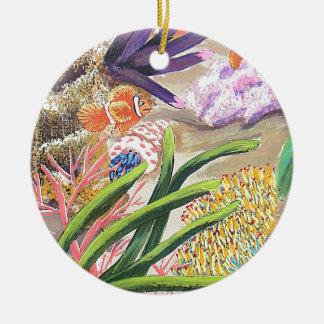 Bursting Christmas Ornament