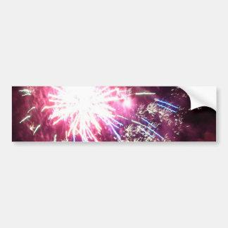 Bursting Radiance Bumper Sticker