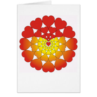 Bursting With Love! Greeting Card