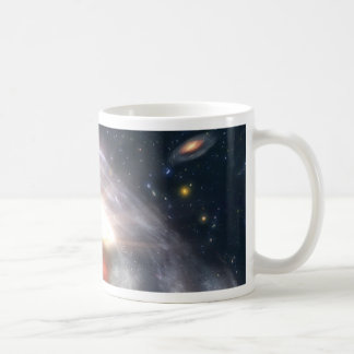 Bursting with Stars and Black Holes Coffee Mug