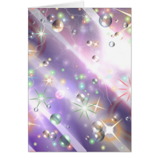 Bursts of Pain & Bubbles of Hope Card