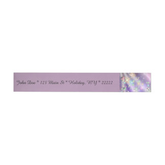 Bursts of Pain & Bubbles of Hope Wrap Around Address Label