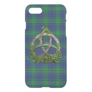 Burt Tartan And Celtic Trinity Knot iPhone 7 Case