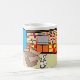 Burt the Bunny & a Box? Coffee Mug