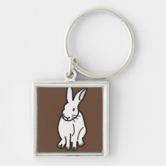 Burt the Bunny key chain